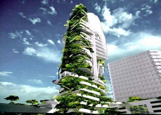 Vertical Farm Tower